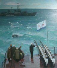 В честь героически погибших балтийцев