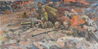 «Битва за Сталинград» эскиз