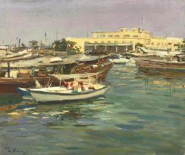 Лодки в Эль-Кувейте