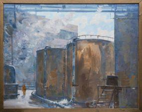 Завод ЗИЛ. Нефтехранилища