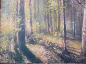 Поцелуй в лесу