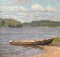 Лодка у берега