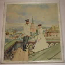 Из серии Николай II, Романовы на крыше