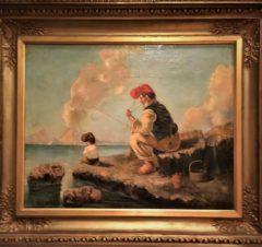 Итальянцы на берегу Неаполитанского залива