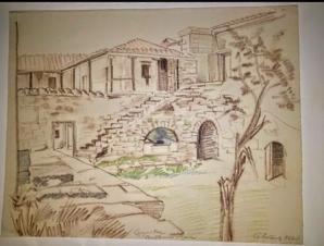 Дворик монастыря Сурб Хач.1926
