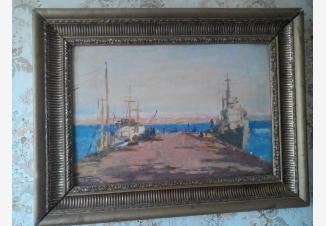 Корабли в Баренцовом море