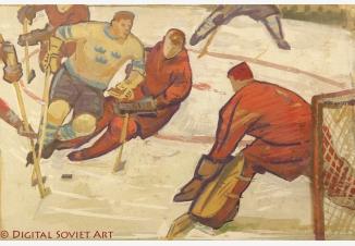 Хоккей — СССР-Швеция