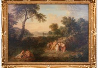 Детство Юпитера. Аркадский пейзаж