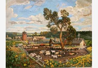 Колхозная ферма