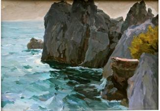 Скалы у моря. Коктебель.