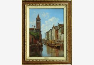 Канал Санта Барбара в Венеции