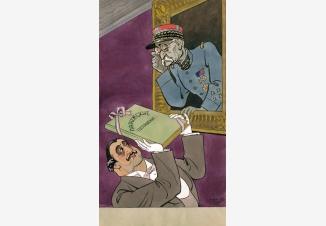 Иллюстрация к журналу «Крокодил»