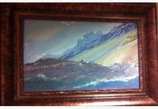 У подножия горы Каракорум