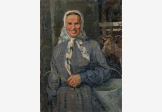 Портрет доярки