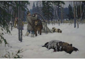 Медведя завалил