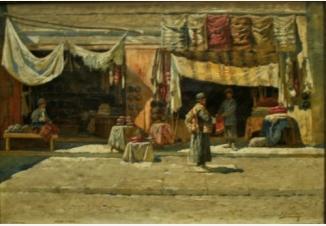 Кавказский базар (На базаре в Тифлисе)