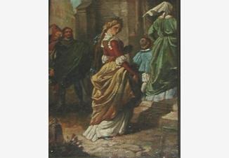Гретхен идет в собор