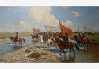 Восточное войско в походе