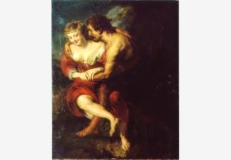 Пастушеская сцена (вольная копия с одноименной картины Питера Пауля Рубенса)