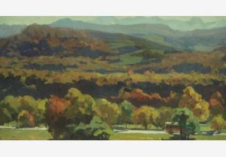 Пейзаж с холмами