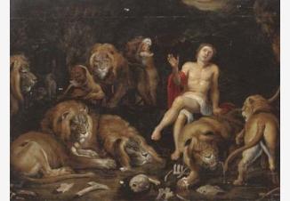 Даниил среди львов