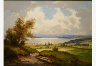 Вид на озеро Аммерзее