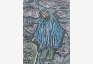 Еврей в голубом