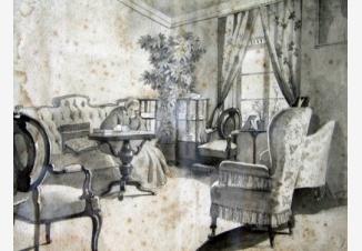 Дама, пишущая письмо