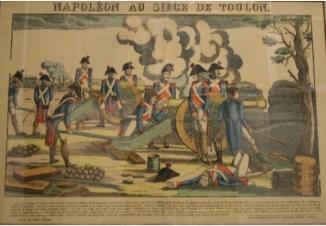 Наполеон осаждает Тулон