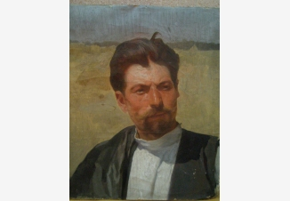 Мужской портрет. Этюд.
