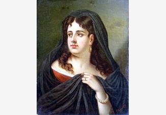 Портрет испанки