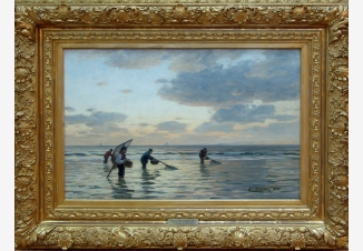 Ловля рыбы во время отлива