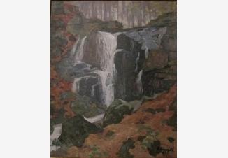 Водопад Скакало