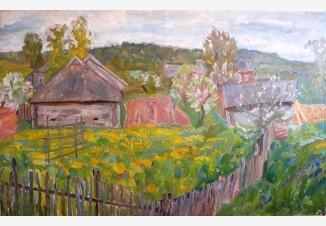 Деревня Миронушка на Валдае