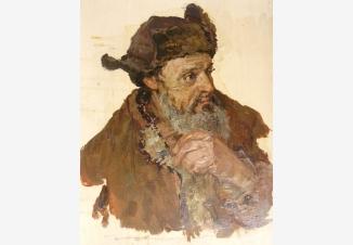 Крестьянин (Этюд к картине «Хлеб нашли»)