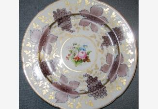 Тарелка из Корбиевского сервиза «Розы»