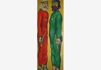 Андрей Рублев и Даниил Черный