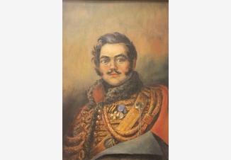 Портрет Дениса Давыдова. Герой войны 1812 года, поэт, партизан
