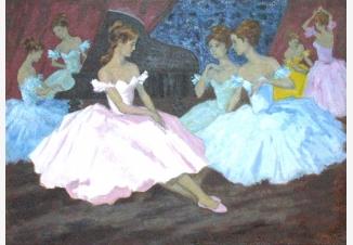 В балетном зале