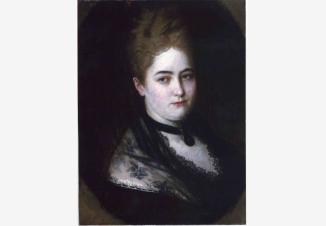 Портрет молодой дамы