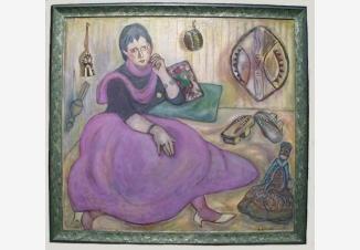 Портрет искусствоведа Татьяны Метакса