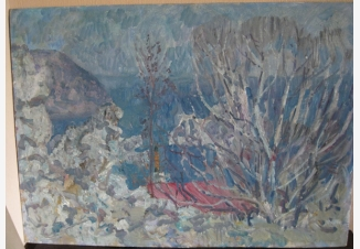 Голубая весна в Крыму