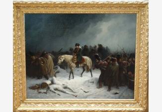 Бегство Наполеона из России зимой