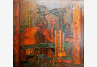 Череповецкий завод.Ночная смена