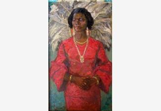 Портрет негритянки