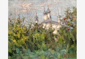 Храм в яблоках