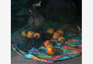 Хурма и виноград