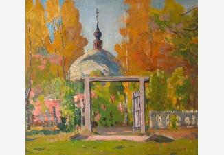 Ворота церковной ограды
