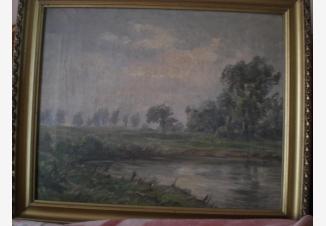 Пейзаж у пруда