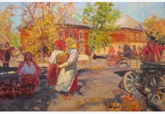 Осенний базар
